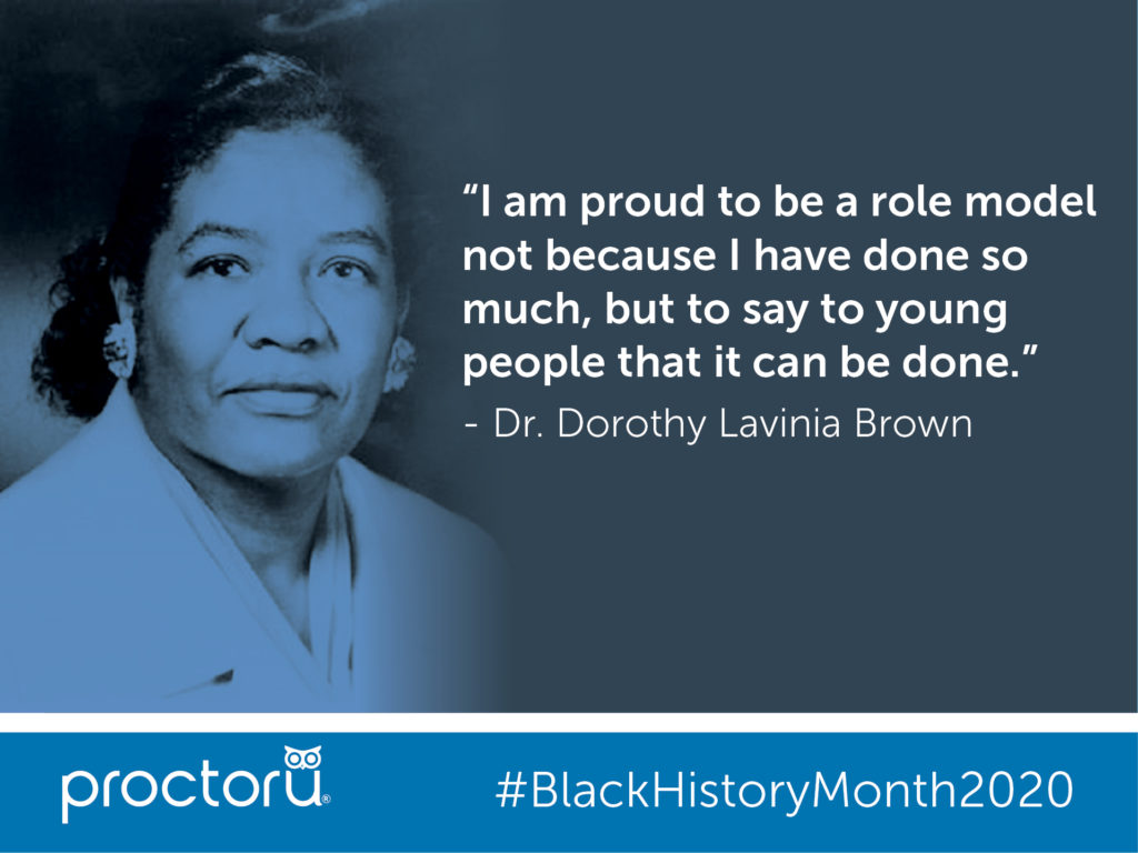 Dr. Dorothy Lavinia Brown
