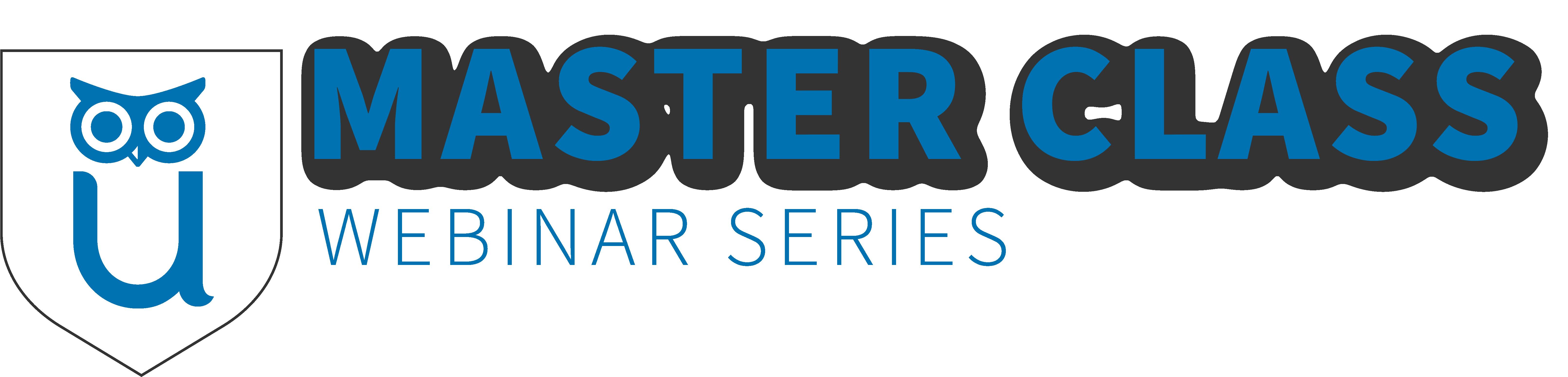 Master Class Webinar Series Logo